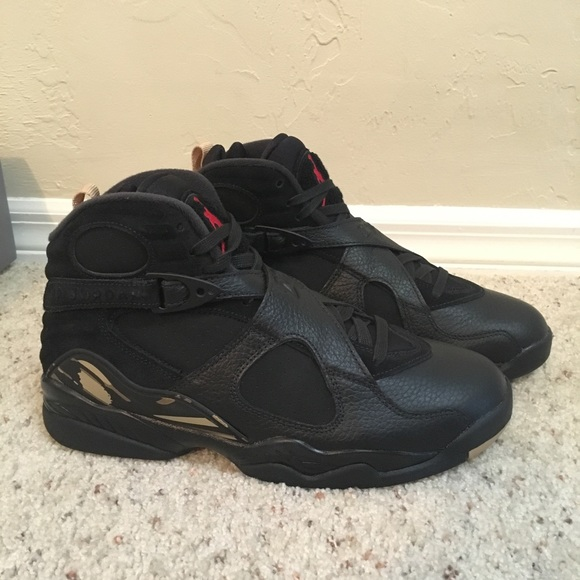 55a66ac3164414 OVO Jordan 8 Retro Black SZ Men s 9